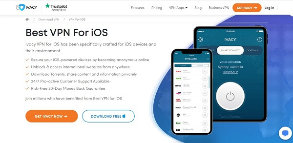 ivacy ios